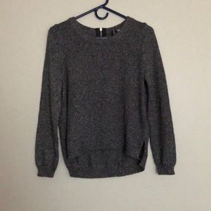 DIVIDED by H&M Sparkly Silver Sweater